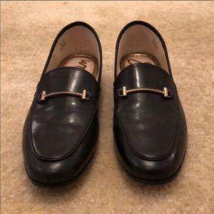 Sam Edelman Lior Loafer shoes black leather flats